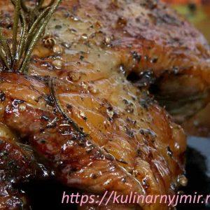Свиная шейка, запеченная с гвоздикой и медом — вкусно и красиво!