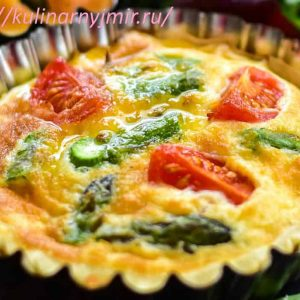 Слоеный пирог с овощами — очень сочный, очень сытный и вкусный!