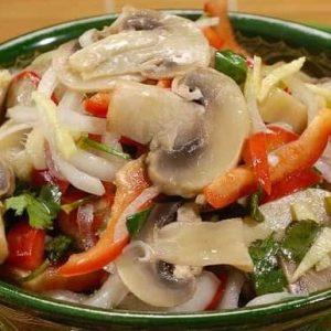 Грибы по-корейски — пикантные, оригинальные, простые, самые вкусные!