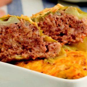 Голубцы с мясом и овсяными хлопьями — сытное и сочное блюдо!