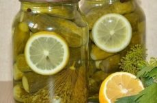 Наивкуснейшие маринованные огурчики с лимоном!