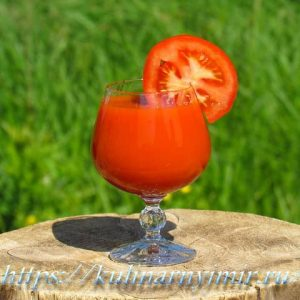 Томатный сок — отличный способ сохранения богатого урожая!