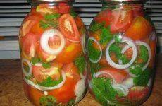 Маринованные помидоры на зиму — вкус изумительный!